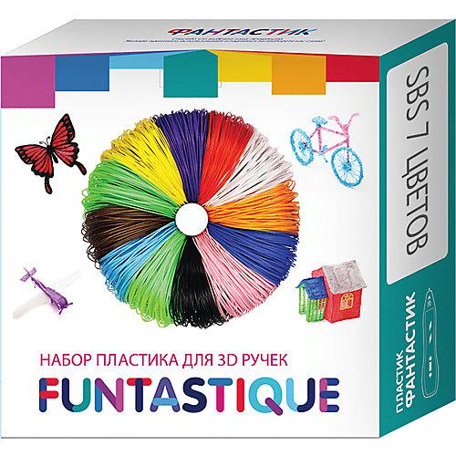 Комплект Pro/SBS-пластика Funtastique для 3д ручек, 7 цветов от Funtastique