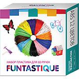 Комплект ABS-пластика Funtastique для 3д ручек, 12 цветов