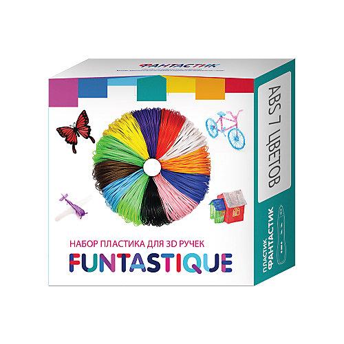 Комплект ABS-пластика Funtastique для 3д ручек, 7 цветов от Funtastique