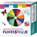 Комплект ABS-пластика Funtastique для 3д ручек, 7 цветов