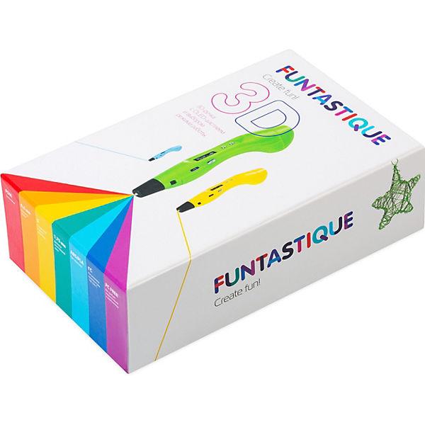 """3D-ручка Funtastique """"One"""", белая"""