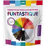 Комплект PLA-пластика Funtastique для 3д ручек, 12 цветов