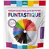 Комплект PLA-пластика Funtastique для 3д ручек, 7 цветов