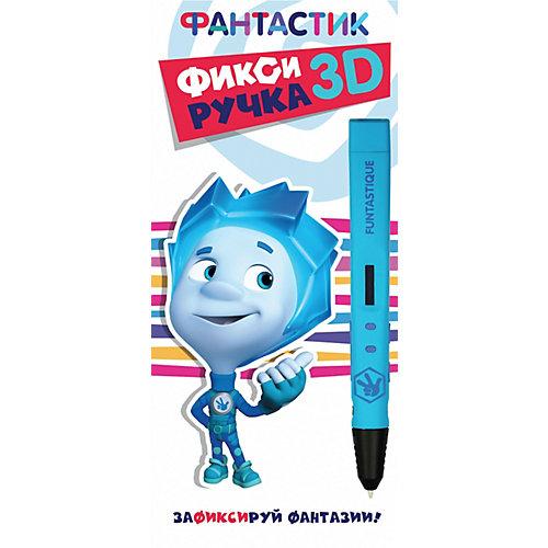 """3D-ручка Funtastique """"Фиксики"""", голубая"""