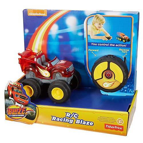 """Радиоуправляемая машинка Fisher price """"Вспыш и его друзья"""", Вспыш от Mattel"""