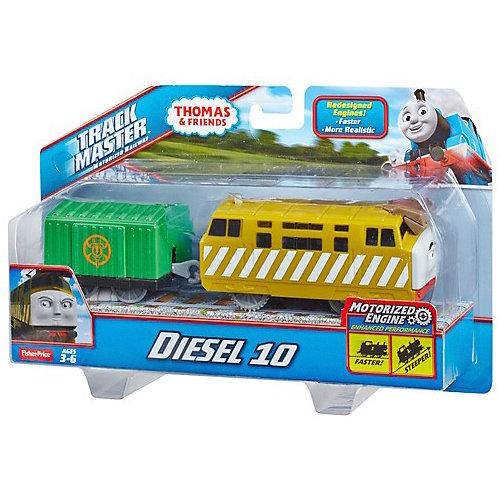 """Паровозик Fisher Price """"Томас и его друзья"""", Дизель 10 от Mattel"""