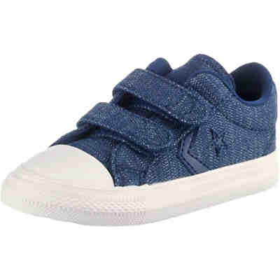 Baby Sneakers Low STAR PLAYER 2V OX NAVY/EGRET/BROWN für Jungen