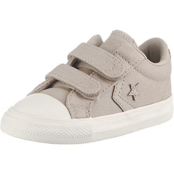 Baby Sneakers Low STAR PLAYER 2V OX PAPYRUS/EGRET/BROWN für Jungen