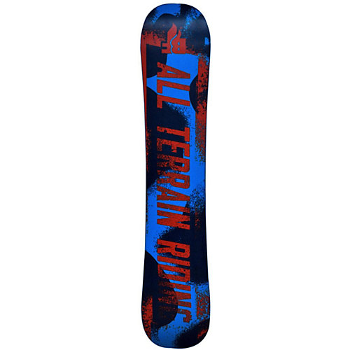 "Сноуборд BF snowboards ""Techno"", 136 см - черный от BF snowboards"