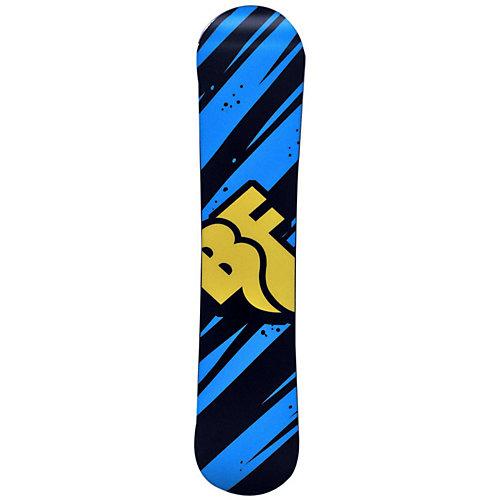 "Сноуборд BF snowboards ""Techno Smalls"", 110 см - черный от BF snowboards"