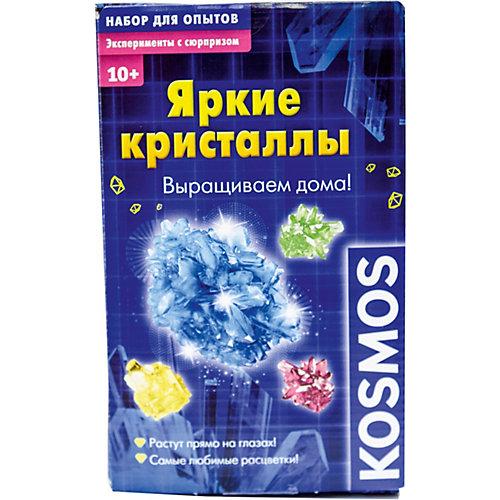 """Набор для опытов Kosmos """"Яркие кристаллы"""""""