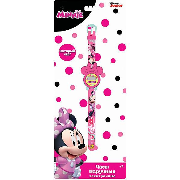 Электронные наручные часы Disney Minnie Mouse (Минни Маус)