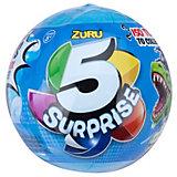 """Шар-сюрприз Zuru """"5 surprise"""", для мальчиков"""