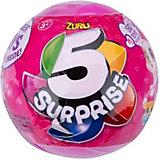 """Шар-сюрприз Zuru """"5 surprise"""", для девочек"""