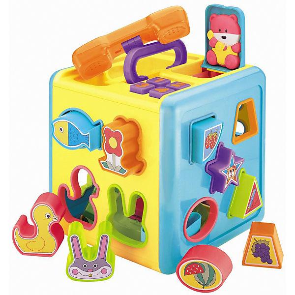 Куб-сортер Red Box, с фигурками