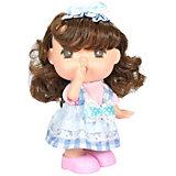 """Мини-кукла Lotus """"Mademoiselle GeGe"""" в клетчатом сарафане, 15 см"""