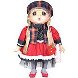 """Мини-кукла Lotus """"Mademoiselle GeGe"""" в красном платье, 38 см"""