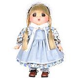 """Мини-кукла Lotus """"Mademoiselle GeGe"""" в голубом переднике, 38 см"""