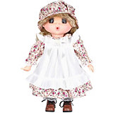 Кукла Lotus Mademoiselle GeGe в белом переднике, 38 см