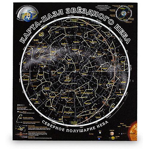 "Карта-пазл Геоцентр ""Карта звездного неба"" от АГТ Геоцентр"