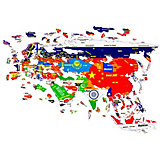 "Магнитный пазл Геомагнит ""Азия"""