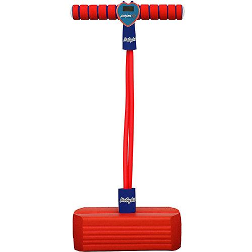 Тренажер для прыжков Moby-Jumper со счетчиком, светом и звуком, красный от Moby Kids