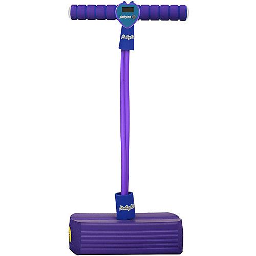 Тренажер для прыжков Moby-Jumper со счетчиком, светом и звуком, фиолетовый от Moby Kids