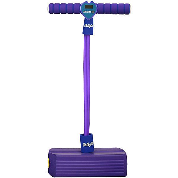 Тренажер для прыжков Moby-Jumper со счетчиком, светом и звуком, фиолетовый
