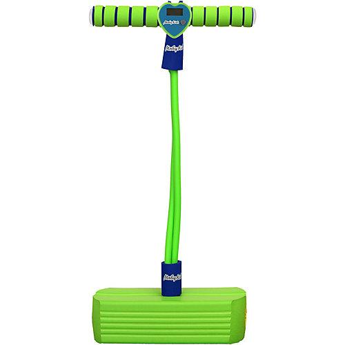 Тренажер для прыжков Moby-Jumper со счетчиком, светом и звуком, зеленый от Moby Kids