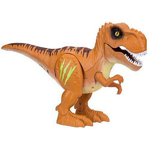 """Робот на ИК управлении 1toy """"RoboAlive"""" Робо-тираннозавр RoboAlive, оранжевый от ZURU"""