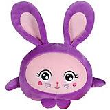 """Мягкая игрушка 1toy """"Squishimals"""" Фиолетовый зайка, 20 см"""