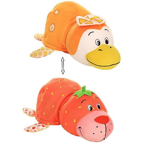 """Мягкая игрушка-вывернушка 1toy """"Ням-Ням"""" Морской котик с ароматом клубники-Пингвинчик с ароматом апельсиновой от 1Toy"""