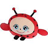 """Мягкая игрушка 1Toy """"Squishimals"""" Красная божья коровка, 20 см"""