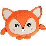 """Мягкая игрушка 1Toy """"Squishimals"""" Рыжая лиса, 20 см"""
