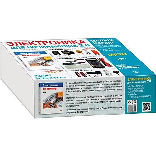 """Малый набор для экспериментов Bhv """"Электроника для начинающих 2.0"""" с книгой от Bhv"""
