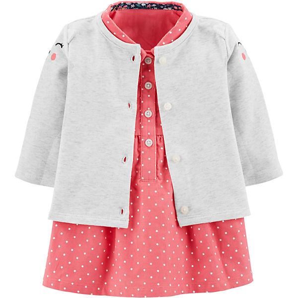 Комплект: Кардиган и платье Carter's для девочки