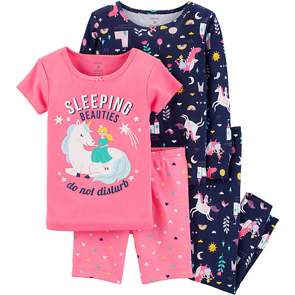 Пижама 2 шт. Carter's для девочки