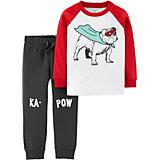 Комплект Carter's: лонгслив и брюки
