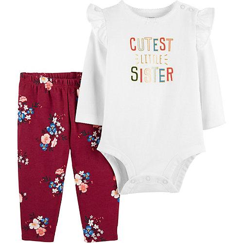 Комплект для новорожденного Carter's - бежевый от carter`s