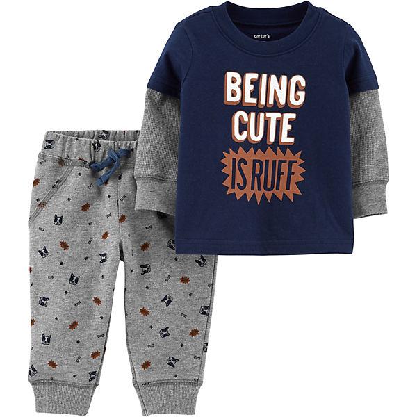 Комплект: Толстовка и брюки Carter's для мальчика