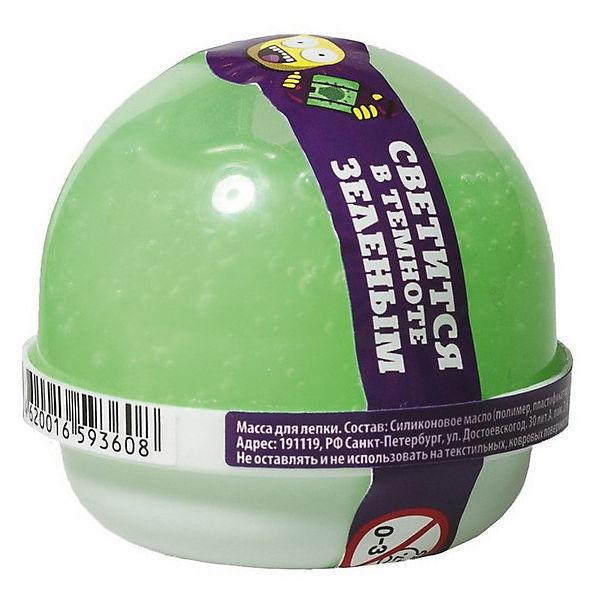 """Жвачка для рук Волшебный мир """"Nano gum"""" светится зелёным, 25 гр"""