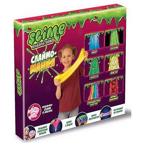 Набор Slime 3 в 1 Лаборатория, для девочек от Slime