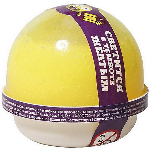 Жвачка для рук Slime Nano gum светится жёлтым, 25 гр от Slime