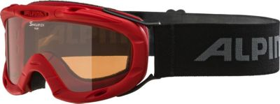 """Горнолыжные очки Alpina """"Ruby S1 SH"""", красные"""
