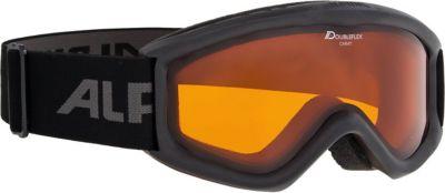 """Горнолыжные очки Alpina """"Carat DH"""", чёрные"""