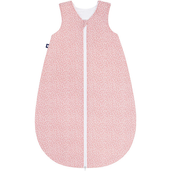 Sommer- Schlafsack Jersey, Tiny Squares Blush