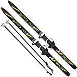 """Лыжи подростковые """"Ski Race""""130/100 см, унив.крепление """"Цикл"""", с палками"""