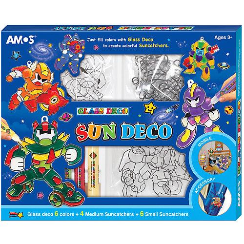 Набор витражных красок Amos с витражами от Amos