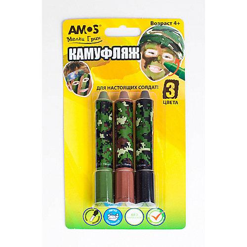"""Мелки-грим для мальчиков Amos """"Камуфляж"""""""