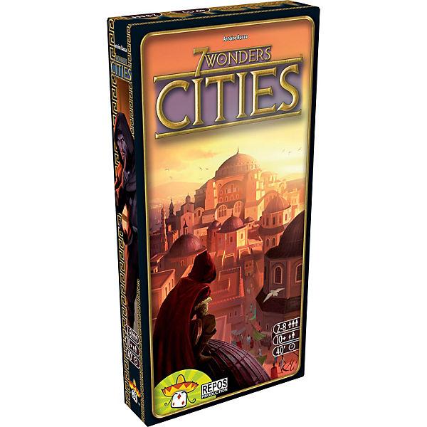 7 Wonders, Cities (Spiel-Zubehör), Asmodee